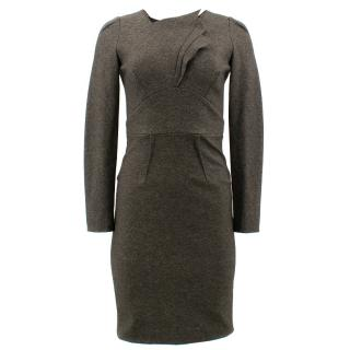 Roland Mouret Grey Assymmetric Dress