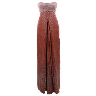 Diane Von Furstenberg Pattern Maxi Dress