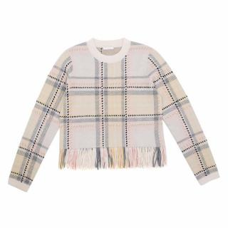 Chloe Nude Wool and Cashmere Jumper