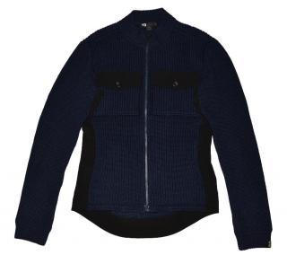 Y-3 Men's Full Zip 100% wool Jacket