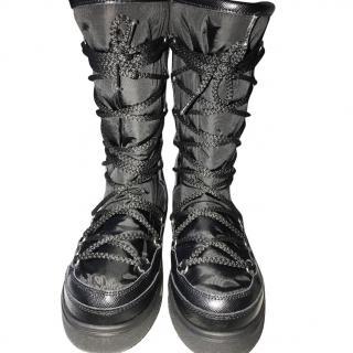 Moncler laetitia lace-up boots