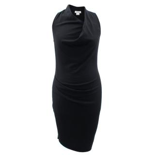 Helmut Lang Black Fitted Dress