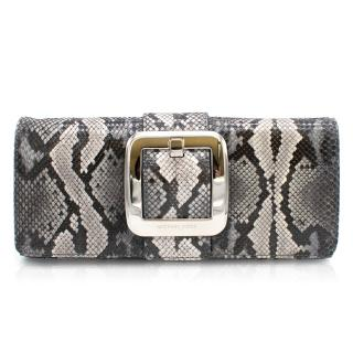 Michael Kors Snake Skin Clutch Bag