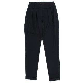 Maje Black Tuxedo Trousers