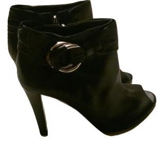 Gucci black ankle boot size 39