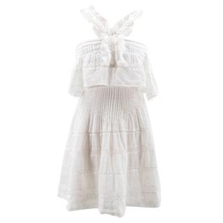 Isabel Marant White Frill Dress