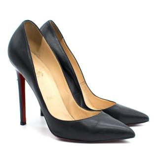 Christian Louboutin Pigalle 120 Black Pumps