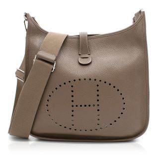 Hermes Evelyne Bag in Etoupe