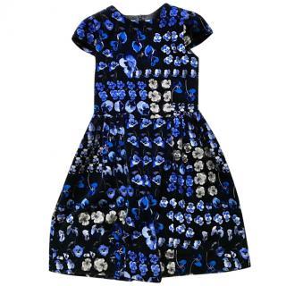 New Gucci Blue VelvetGirl's  Dress size 12 Yr