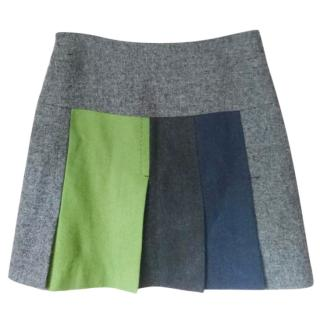 Paul Smith Wool Pleat Skirt