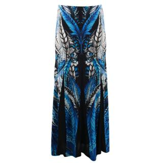 Roberto Cavalli Patterned Maxi Skirt