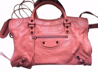 Balenciaga Classic Medium Pink City Bag