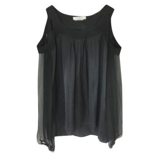Givenchy Black Cut Out Top.