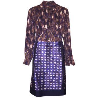 Rochas Pattern Dress