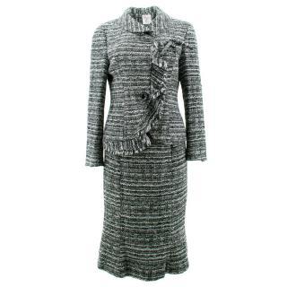 Sonia K Black and White Tweed Suit