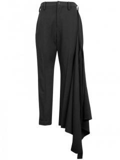 Yohji Yamamoto Wrap Around Trousers Black