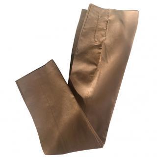 Akris brown trousers