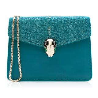 Bvlgari Mini Serpenti Forever Flap Bag