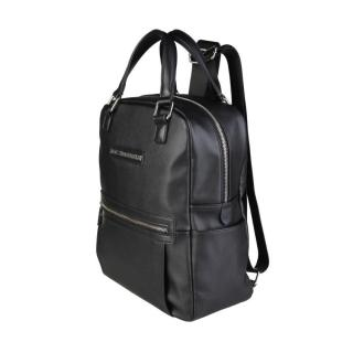 Trussardi Jeans Black Backpack