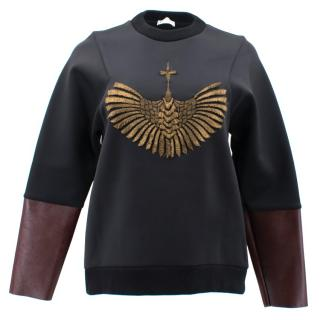 Vionnet Black Embellished Sweater
