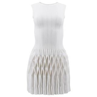 Azzedine Alaia Off White Origami Dress