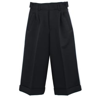Golden Goose Black Side Striped Trousers