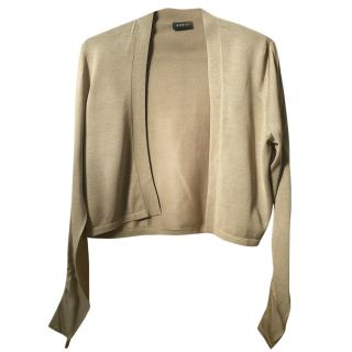 AKRIS silk knit jacket cardigan size 14