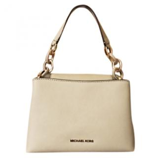 Michael Michael Kors Portia Small Saffiano Leather Shoulder Bag