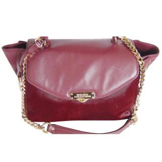 Versace Collection Vitella Stampa Alce Handbag Pony Skin