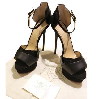 Charlotte Olympia  black sandals