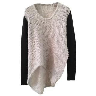 Helmut Lang Grey/Black sweater