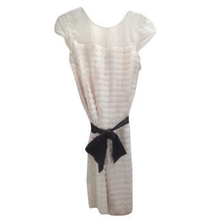 Alberta Ferreti silk evening dress