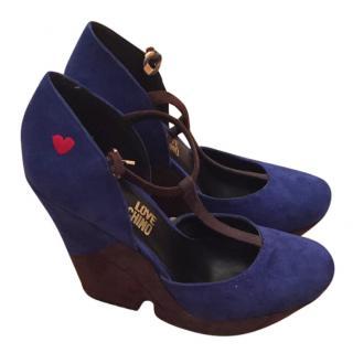 Moschino Love Sandals size 3