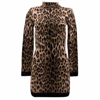 Balmain Leopard Print Dress