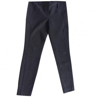 BRUNELLO CUCINELLI charcoal grey trousers
