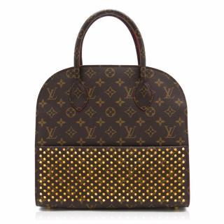 Louis Vuitton x Christian Louboutin Shopping Tote Bag