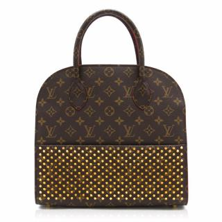 Louis Vuitton x Christian Louboutin Shopping Tote Bag