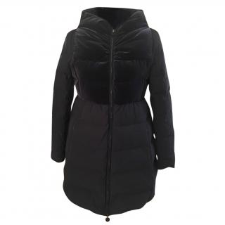 Armani collezioni navy down feather coat
