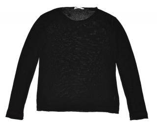 T By Alexander Wang Black cotton sweater