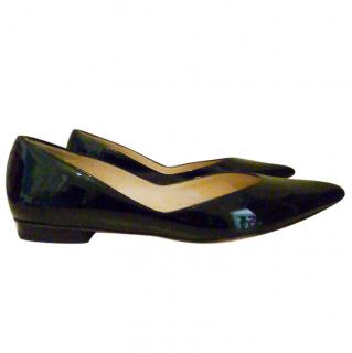 Michael Kors patent leather ballet flats