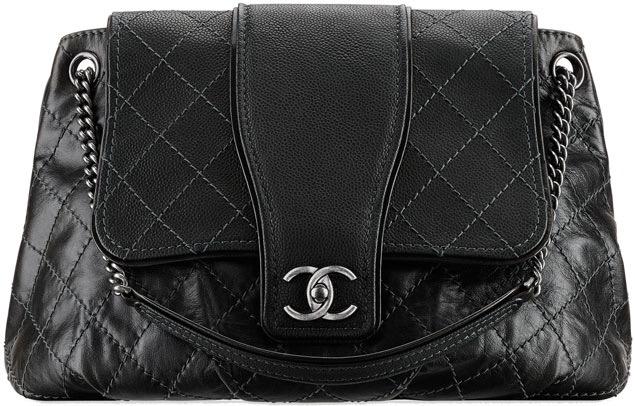 Chanel Large Calfskin Messenger Bag