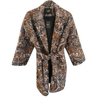 Maje Jacquard Coat