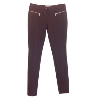 Michael Michael Kors dark brown riding pants