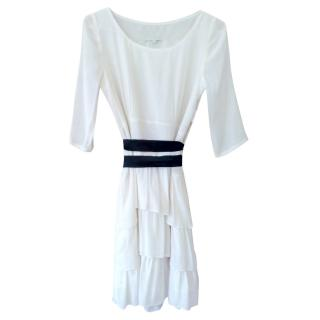Sandro cream dress