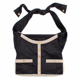 Chanel Black Leather Girl Bag