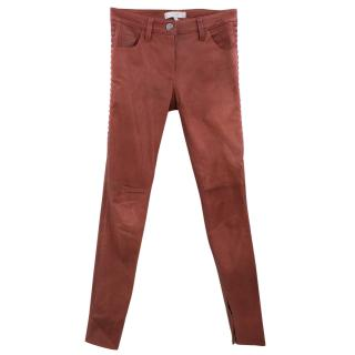 Iro Tiane Lamb Leather Trousers