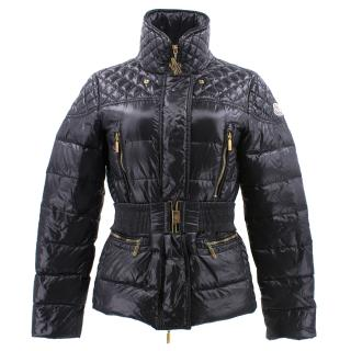 Moncler Black Belted Jacket