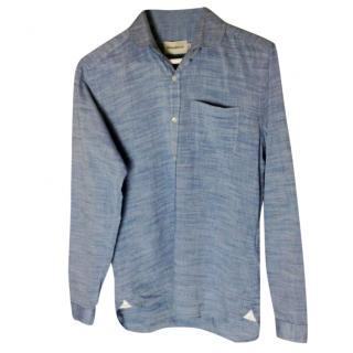 Oliver Spencer Blue shirt