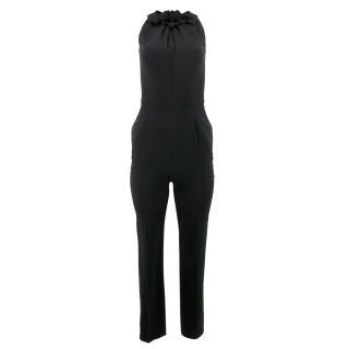Valentino Black Tight Jumpsuit