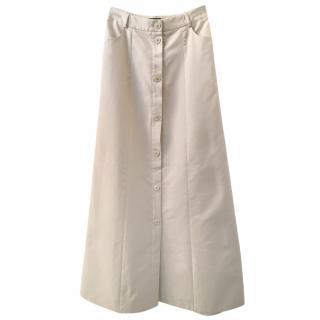 Akris beige skirt